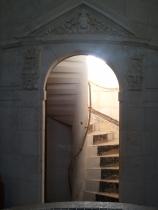 Doorway in the first floor King's Apartment.